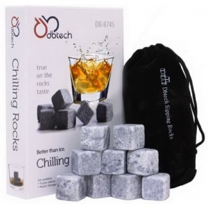 Soapstone whiskey stones 9pcs/set gift box