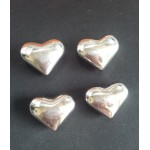 Stainless steel ice cube heart shape