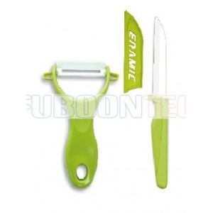 3 inch standing handle paring knife with peeler gift set