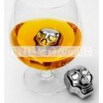 Skull whisky stone