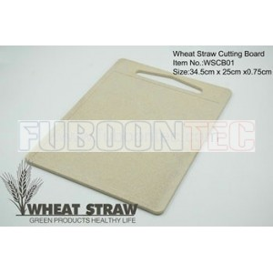 Wheat straw cutting board WSCB01